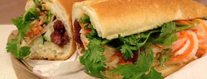 Banh Mi Saigon Bakery is one of 11 Howard + Foursquare Guide to Little Italy.