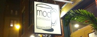 MOD Coffee & Tea House is one of Best Galveston Restaurants.