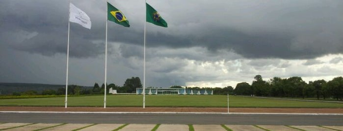 Palácio da Alvorada is one of Brasília.