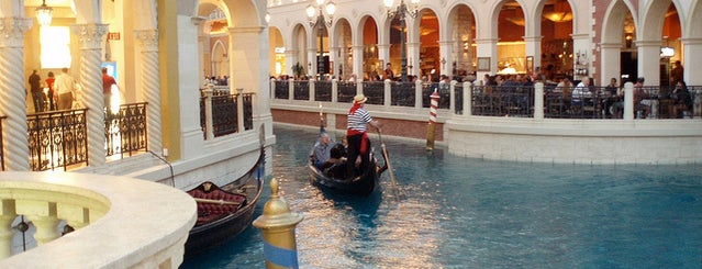 Grand Canal Shoppes is one of Vegas Vacation.