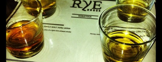 Rye House is one of favorite bars.