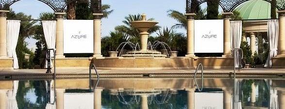 Azure Luxury Pool (Palazzo) is one of Las Vegas Poolside.