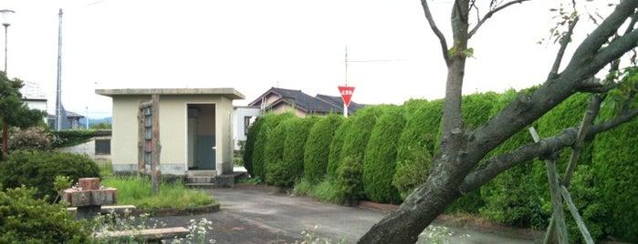 庄川駐輪場 is one of とやまのサイクリングロード.