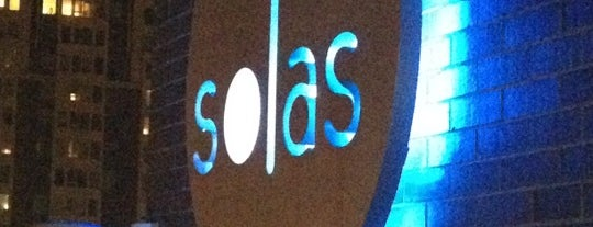 Solas Lounge & Rooftop Bar is one of Bullist.
