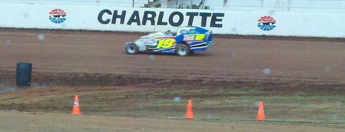 The Dirt Track at Charlotte Motor Speedway is one of My NASCAR.