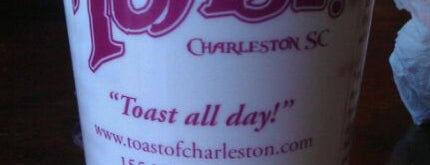 Toast is one of Charleston's Top Social Spots.