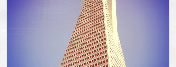 Transamerica Pyramid is one of California.