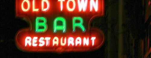 Old Town Bar is one of NY Region Old-Timey Bars, Cafes, and Restaurants.