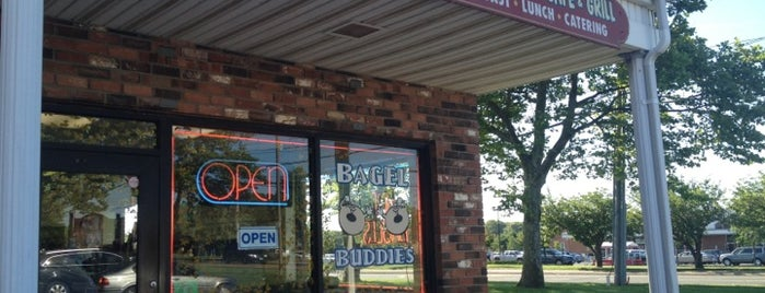 Bagel Buddies is one of Orte, die Mike gefallen.