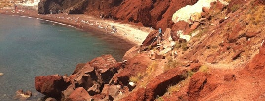 Red Beach is one of Greece.