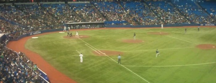 Rogers Centre is one of Major League Baseball Parks.