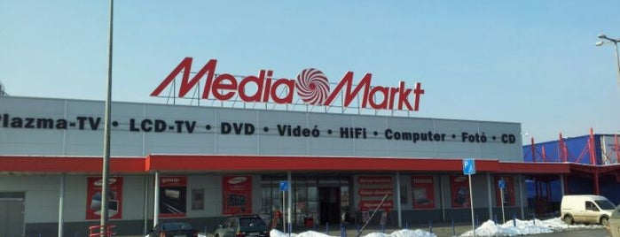 Media Markt is one of Grand Budapest.
