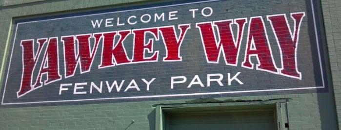Yawkey Way is one of Boston ☆.