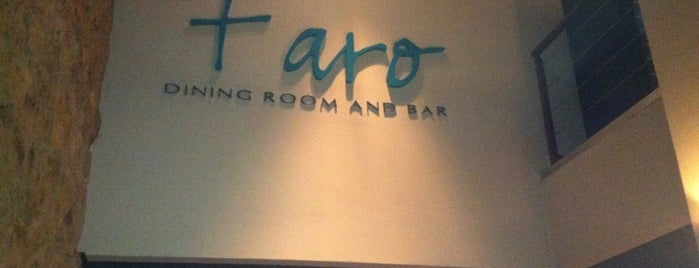 Faro Dining Room & Bar is one of Delicias.