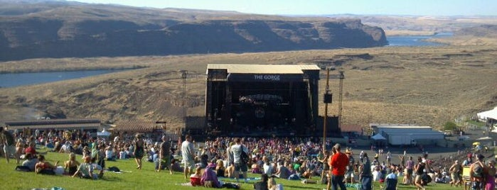 The Gorge Amphitheatre is one of SF Metromix's Top 25 Live Music Venues.