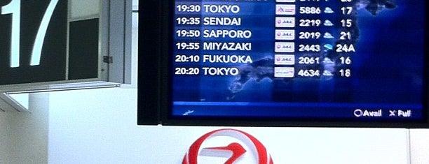 Gate 17 is one of 大阪国際空港(伊丹空港) 搭乗口 ITM gate.