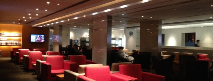Cathay Pacific First and Business Class Lounge is one of Taiwan.