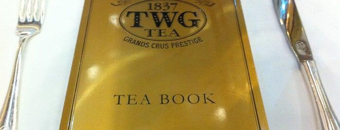 TWG Tea Salon & Boutique is one of Food in Dubai, UAE.