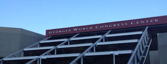 Georgia World Congress Center - Building A is one of FA : понравившиеся места.