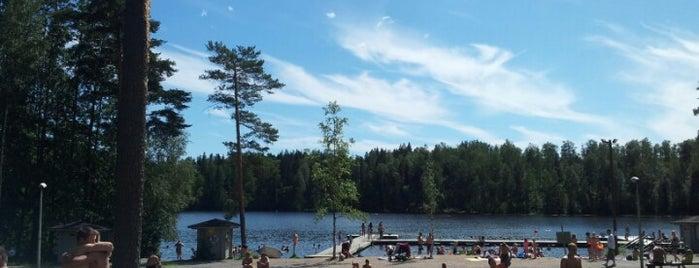 Kuusijärvi is one of helsinki.