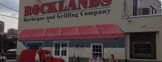 Rocklands Barbeque and Grilling Company is one of Arlington.