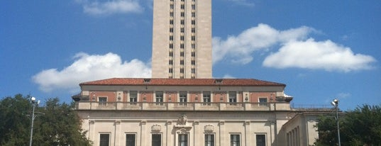 Main Building/The Tower (MAI) is one of Burket's Texas Visit.