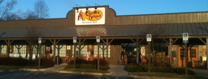 Cracker Barrel Old Country Store is one of Restaurants.