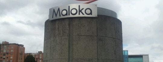 Maloka is one of Bogotá.