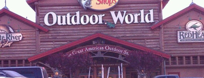 Bass Pro Shops is one of Super's Liked Places.