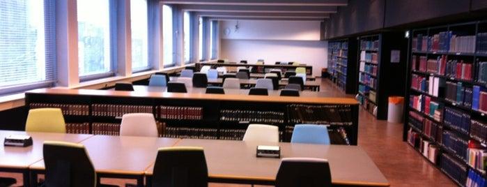 Universiteitsbibliotheek is one of Lieux sauvegardés par JULIE.