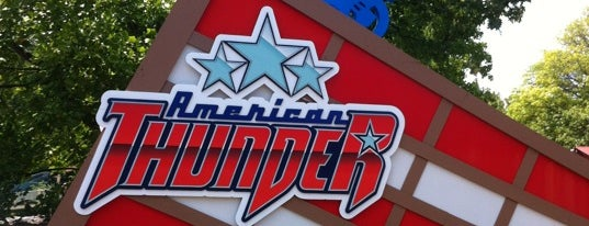 American Thunder is one of ROLLER COASTERS.