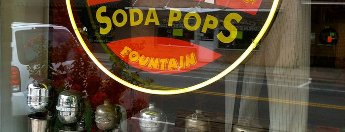 Soda Pops Ice Cream Shop is one of MYMU mountains.