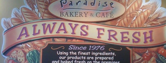 Paradise Bakery & Café is one of PHX Bfast/Brunch in The Valley.
