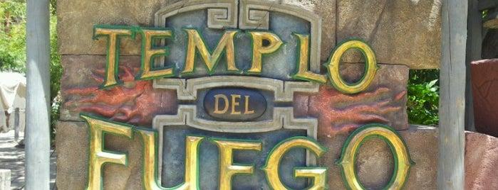 Templo del Fuego is one of PortAventura.