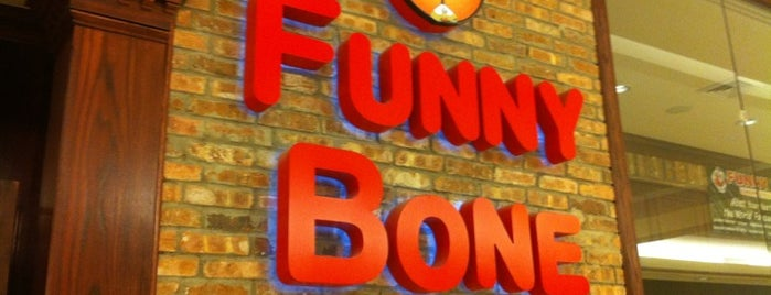 Funny Bone Comedy Club is one of Lindsaye : понравившиеся места.