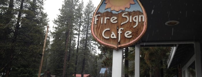 Fire Sign Cafe is one of california dreaming.