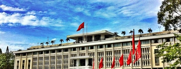 Dinh Độc Lập / Dinh Thống Nhất (Independence Palace / Reunification Palace) is one of Saigon - December 2017.