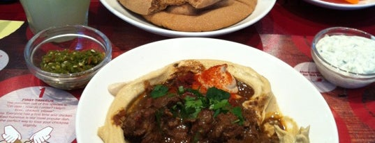 Hummus Bros is one of Middle East in London.