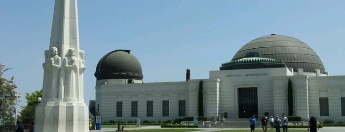 Griffith Observatory is one of California Favorites.