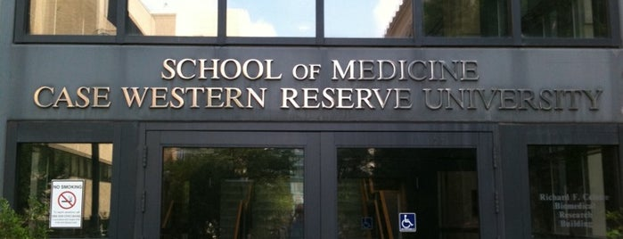 Case Western Reserve University School of Medicine is one of Cleveland!.