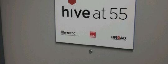 Hive at 55 is one of NYC Tech.