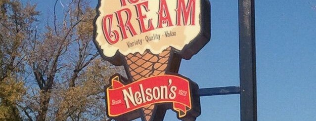 Nelson's Ice Cream is one of Lugares favoritos de Angie.