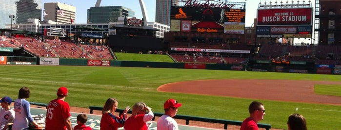 Busch Stadium is one of Baseball Stadiums.