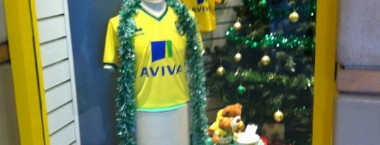 Canary Store is one of Norwich City FC Venues.