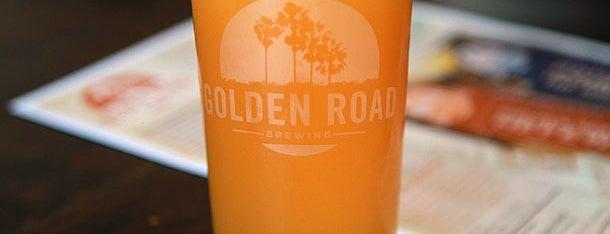 Golden Road Brewing is one of Beer. Food. Yum. LA..