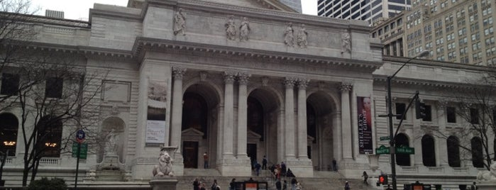New York Public Library - Stephen A. Schwarzman Building Celeste Bartos Forum is one of 101 places to see in Manhattan before you die.