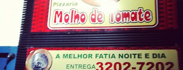 Molho de Tomate is one of Fui, gostei, voltarei e indico! By Otávio Mélo.