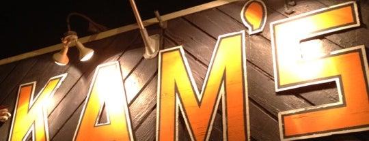 Kam's is one of Official Blackhawks Bars.