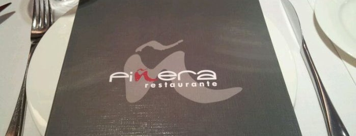 Piñera is one of Restaurantes. Madrid.