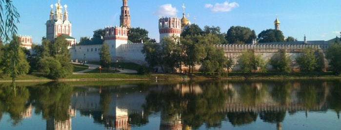 Novodevichy Convent is one of moscow museums.